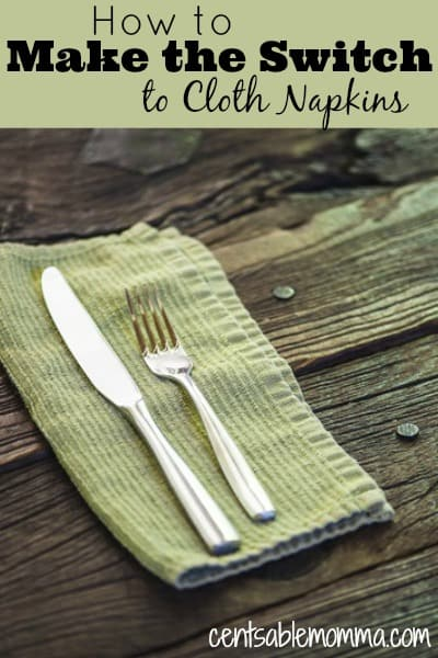 If you've been thinking about using cloth napkins to save money (or waste), check out these tips on how to make the switch to cloth napkins on a budget.