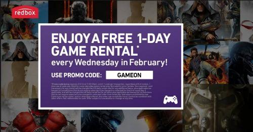 Redbox-Video-Game-Rental