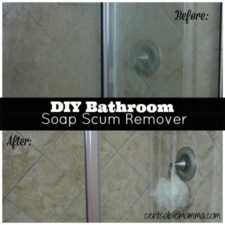 Diy Bathroom Soap Scum Remover Centsable Momma
