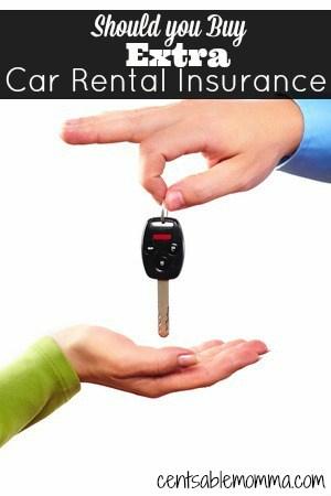 should you buy extra car rental insurance centsable momma. Black Bedroom Furniture Sets. Home Design Ideas