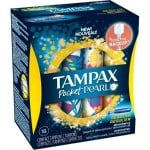 Printable Coupon: $3/2 Tampax Pearl Products + Target Deal