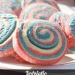 Patriotic Pinwheel Cookies Recipe