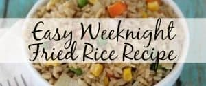 Easy Weeknight Fried Rice Recipe