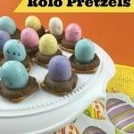 Easter Rolo Pretzels Recipe
