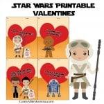 FREE Printable Star Wars Valentine's Day Cards
