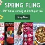 Spring Fling Magazine Sale: Subscriptions for only $4.95