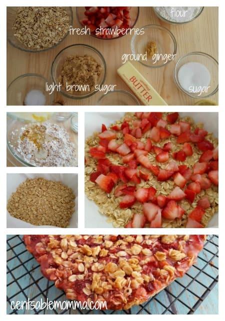 Healthy-Strawberry-Oatmeal-Bars-Process