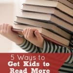 5 Ways to Get Kids to Read More Books This Summer