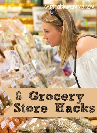 If you want to reduce your grocery store bill, you'll want to check out these 6 Grocery Store Hacks to help you save money on your groceries each week.