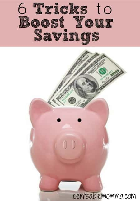 If you don't have much (if any) money in savings, you can use these 6 tricks to boost your savings account.