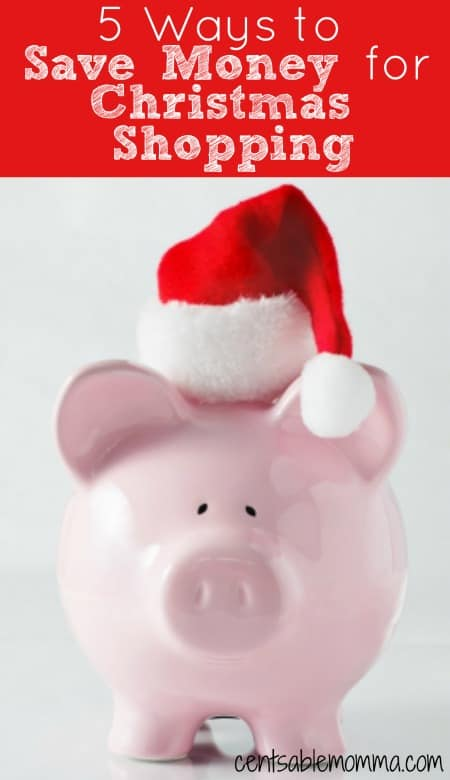Even if you don't have all year to save for your Christmas shopping, you can still save a lot of money in just a few months with these 5 tips to help you have money for your Christmas shopping.