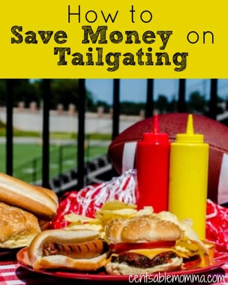 It's fun to hang out with friends and tailgate before the football game. However, it can get expensive! Use these 5 tips to save money on tailgating before the game.