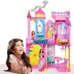 Barbie Rainbow Cove Princess Castle Playset: $49 (51% off)