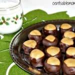 Buckeyes {Chocolate Peanut Butter Balls} Recipe