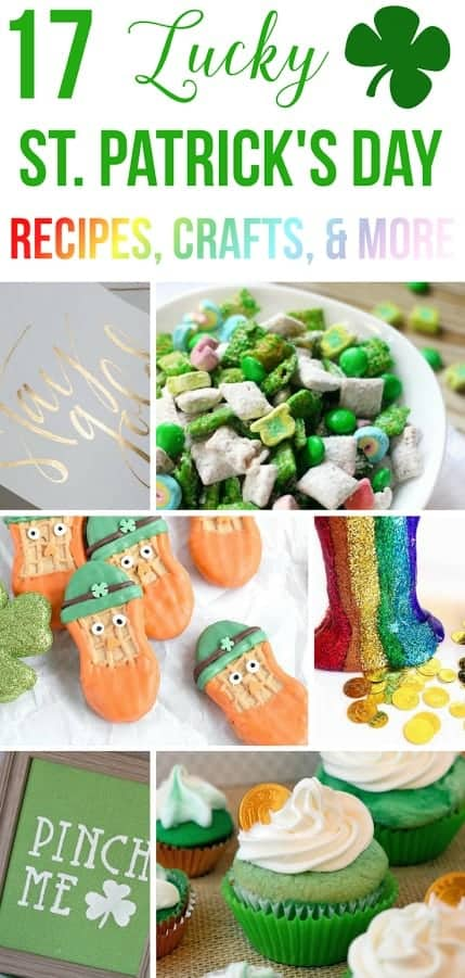 Celebrate St. Patrick's Day with one of these 17 Lucky St. Patrick's Day recipes and crafts.