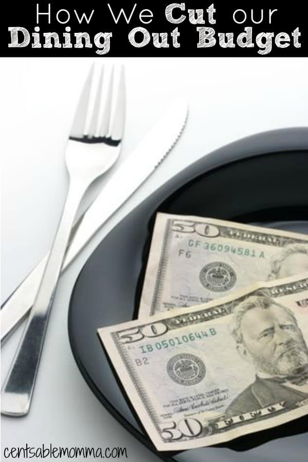 We love to go out to eat, but we don't love how expensive it can be to dine out.  Check out these 6 ways how we cut our dining out budget for some tips to reduce the impact of eating out on your budget.