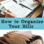 How to Organize Your Bills