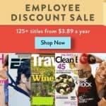 DiscountMags: Employee Discount Magazine Sale