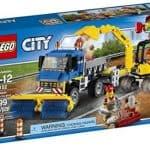 LEGO City Sweeper & Excavator: $23.99 (20% off)
