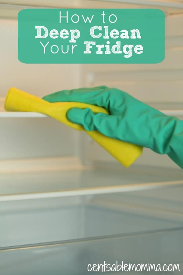 How to deep clean your fridge centsable momma - How to use the fridge in an ingenious manner ...