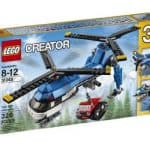 LEGO Creator Twin Spin Helicopter Set: $19.37 (35% off)
