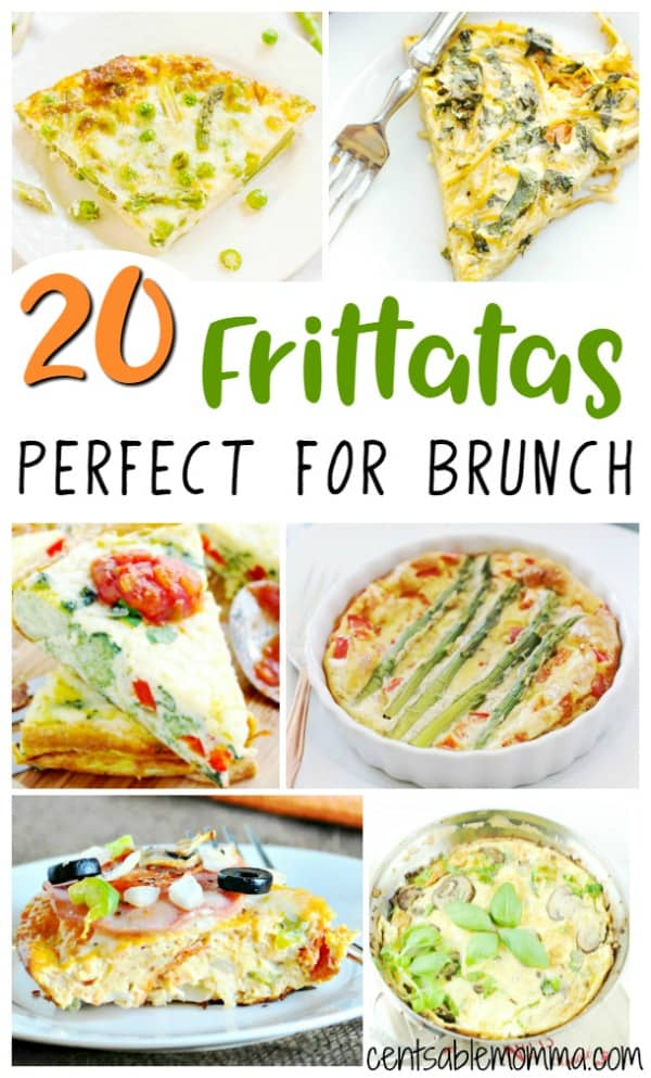 Need a recipe for your next brunch?  Check out these 20 frittata recipes for some creative ways to make egg dishes.