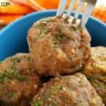 Make-Ahead Turkey Meatballs Recipe